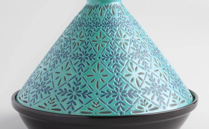 Blue Tile Terracotta Tagine World Market