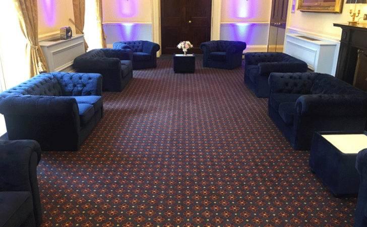 Blue Velvet Sofa Hire Funky Furniture
