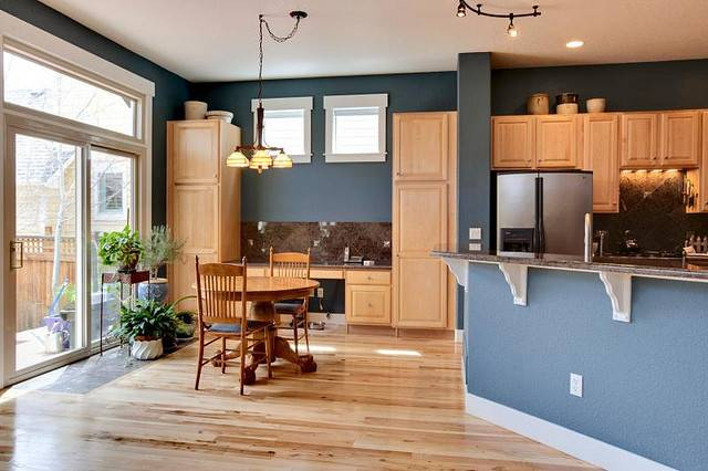 Blue Walls Kitchen Pinterest Brown Teal