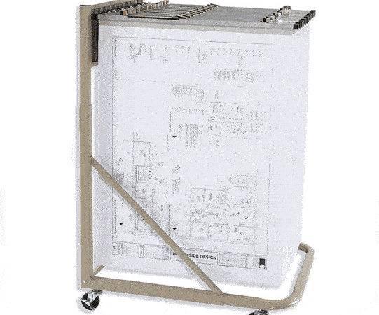Blueprint Storage Stand Plan Rack Hangers