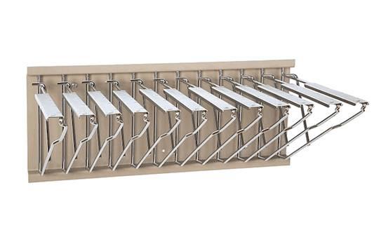 Blueprint Storage Wall Rack Pivoting Hanging Plan Holder