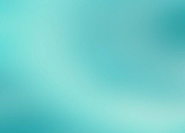 Blurred Turquoise Design Vector