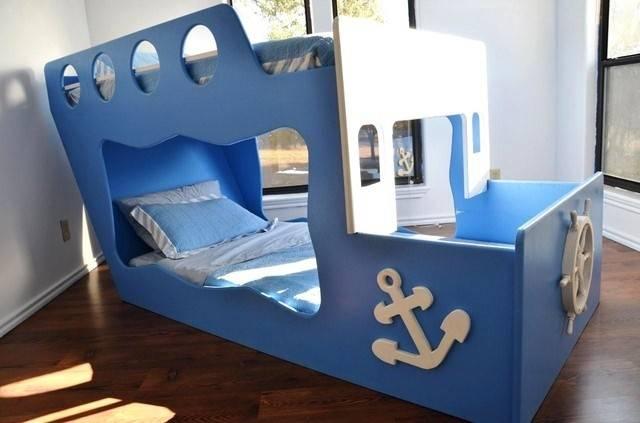Boat Bunk Bed Boy Boog Pinterest