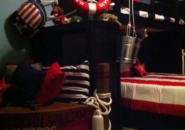 Boat Bunk Bed Boys Room Pinterest
