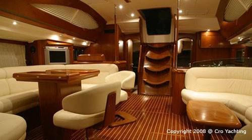 Boat Upholstery Classic Beach Pool Interior Design