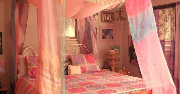 Bohemian Gypsy Bed Canopy Awesome Happy Boho