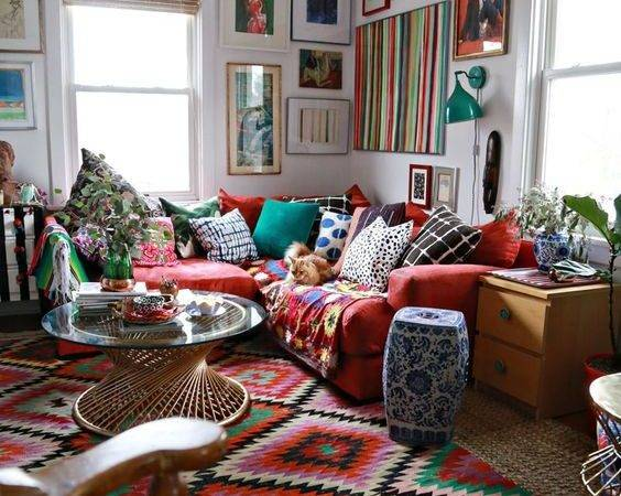 Bohemian Living Room Ideas Decoholic