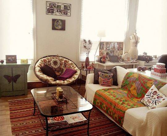 Boho Chic Living Rooms Pinterest
