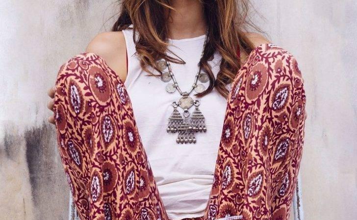 Boho Chic Modern Hippie Palazzo Pants Gypsy Necklace