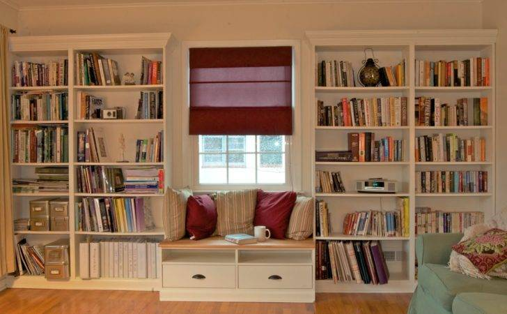 Bookcase Benno Bench Wanted Built Bookshelves