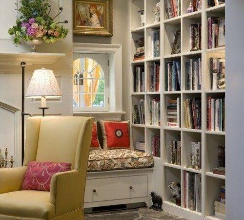Bookcase Window Seat Projects Pinterest