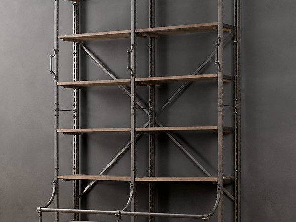 Bookcases Home Office Traditional White Industrial Driven