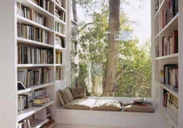 Bookcases Window Seat Home Decor Pinterest