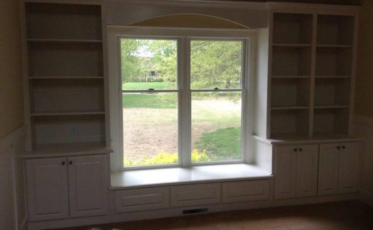 Bookcases Window Seat