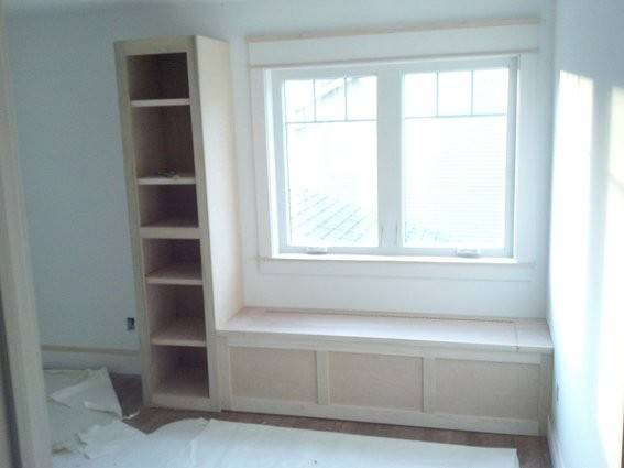 Bookshelf Window Seat Nursery Bookshelves Desk