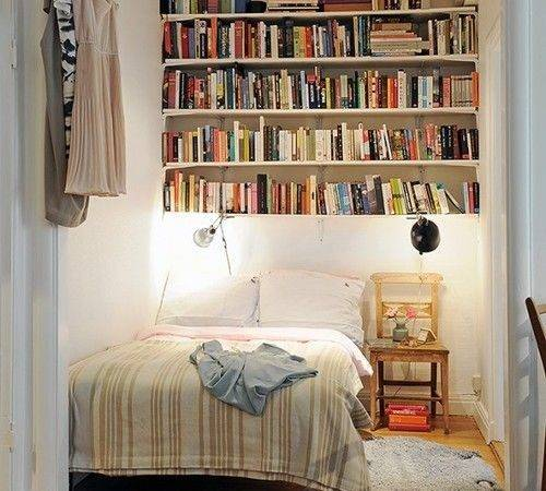 Bookshelves Book Lovers Tiny Bedrooms Small Room