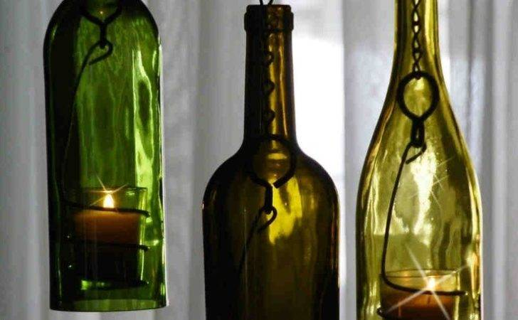 Bottle Ideas Candle Holders Art Wine Candles