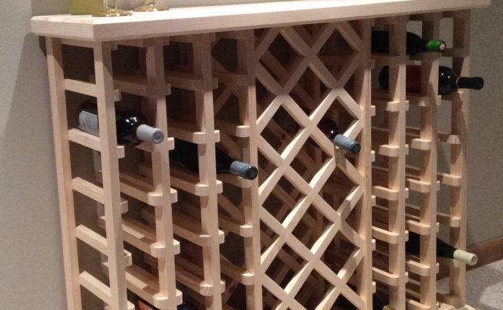 Bottle Lattice Style Wine Rack Winestackers Etsy