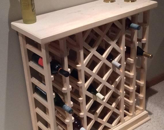Bottle Lattice Style Wine Rack