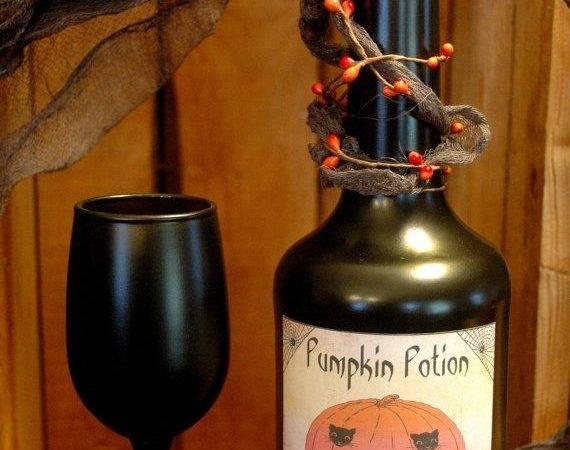 Bottle Your Halloween Cor Pineknobsandcrickets