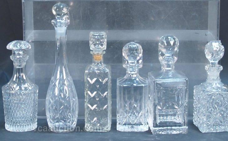 Bottles Displaying Vintage Glass Liquor Toolbar