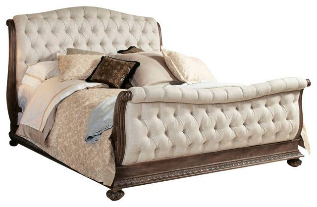 Boutique Piece Sleigh Bedroom Set Traditional Furniture Sets