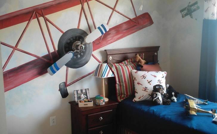 Boys Airplane Room Design Dazzle