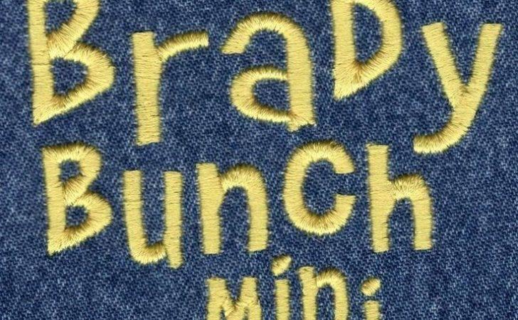 Brady Bunch Mini Satin Font Jolson Designs