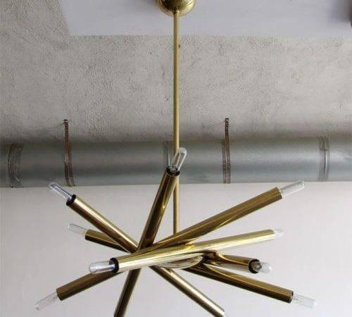 Brass Satellite Pendant Lamp Home Pinterest