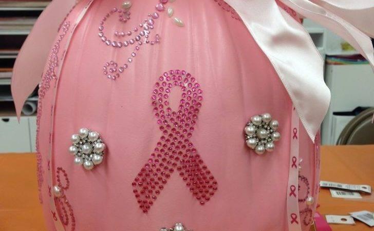 Breast Cancer Awareness Pumpkin Craft Ideas Pinterest