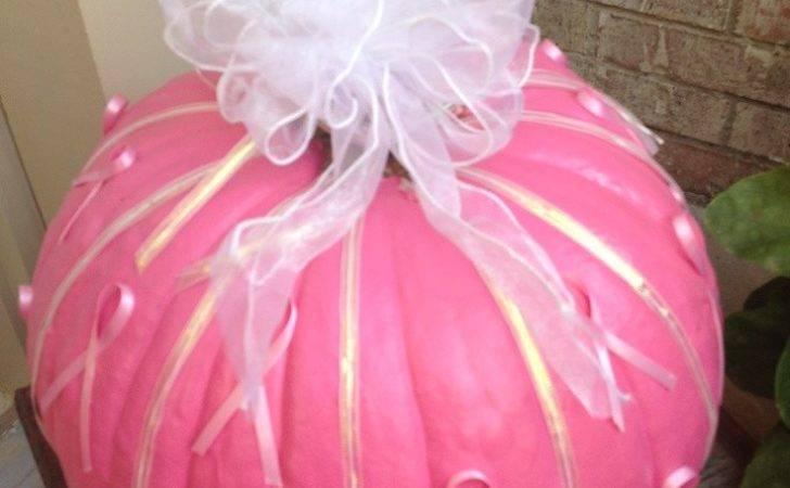 Breast Cancer Awareness Pumpkin Holidays Pinterest