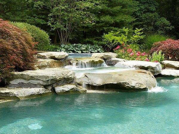 Breathtaking Pool Waterfalls Fashion Drop Dead Gorgeous Backyard