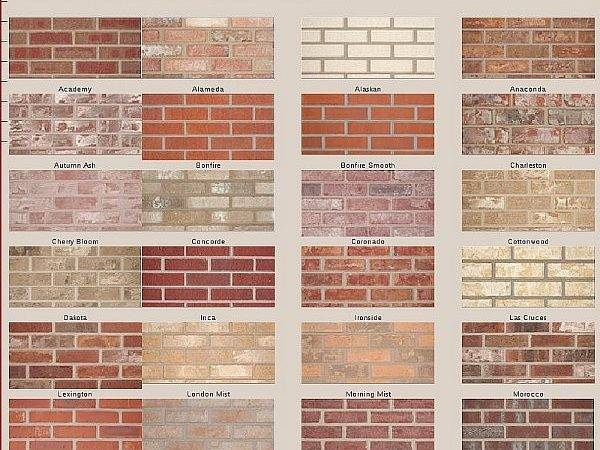 Brick Color Choices Related Keywords Suggestions