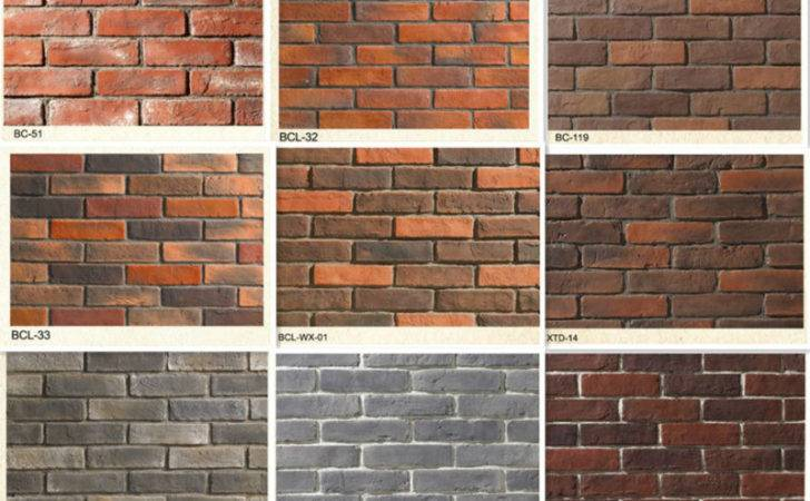 Brick Decorative Concrete Bricks Artificial Decorate Faux