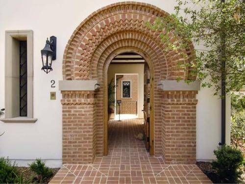 Brick Entrance Designs Home