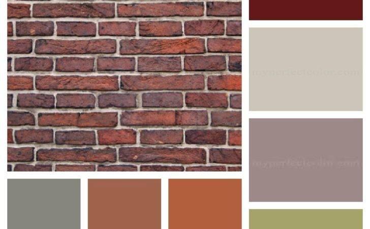 Brick House Colors Pinterest Brown Houses Shutters