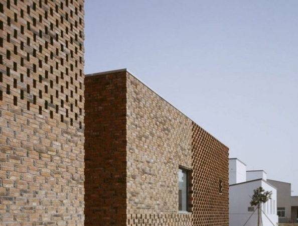 Brick House Modern Home Design China Brings Innovative