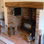 Brick Inglenook Fireplace