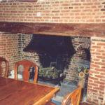 Brick Laminate Inglenook Fireplace