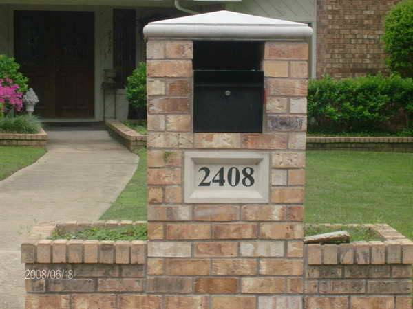 Brick Mailbox Planter Designs