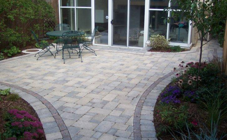 Brick Patio Designs Nice Backyard Experience