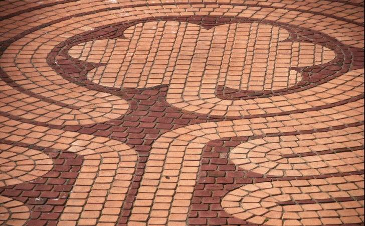 Brick Patio Patterns Designs Running Bond Herringbone Circular
