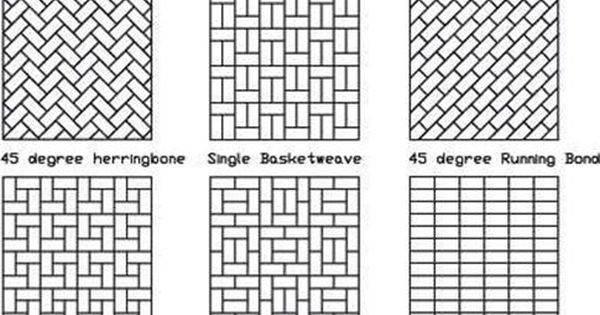 Brick Patterns Like Degree Herringbone Kelly Don