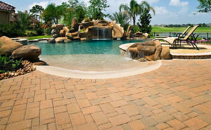 Brick Paver Pool Decks Enhance Pavers Installation