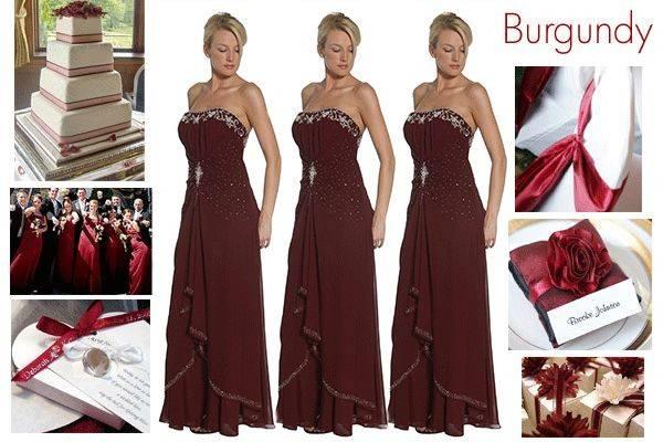 Bridesmaids Winter Wedding Burgendies Stuff Pinterest