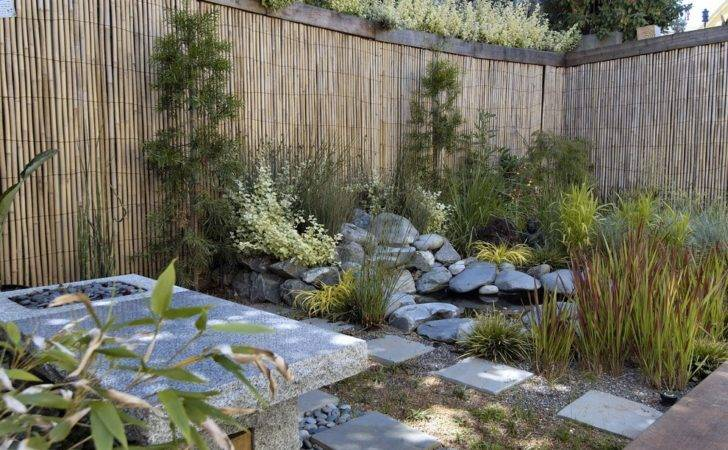 Bright Bamboo Fencing Landscape Asian Privacy Fence Ideas Next