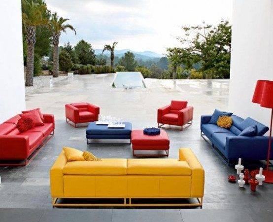 Bright Modern Sofas Roche Bobois Digsdigs