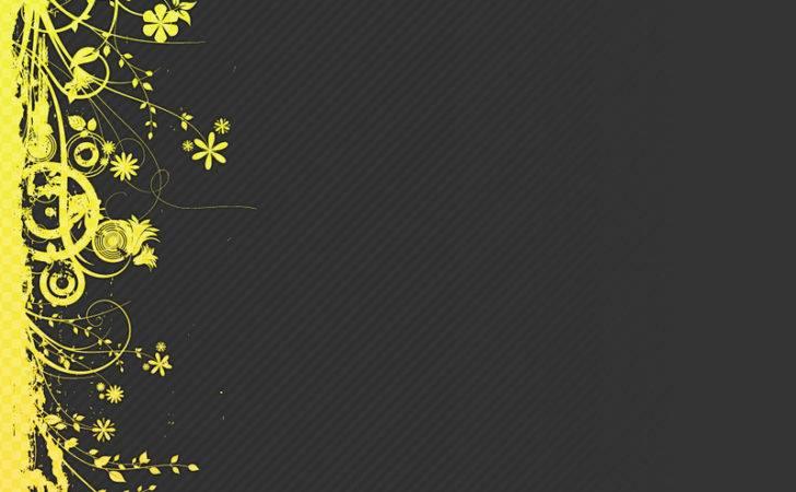 Bright Yellow Design Autumn Silhuoette