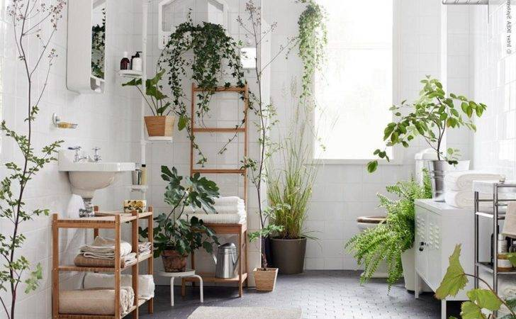 Bring Into Bathroom Interior Design Definitely Plants