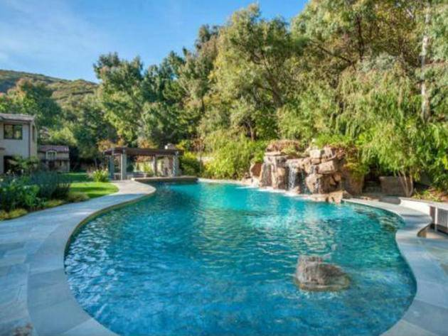 Britney Spears Malibu Pool Beautiful Homes Design